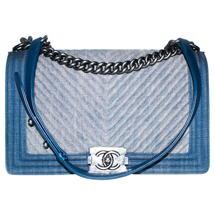"Chanel ""Boy Bag Denim Medium"""