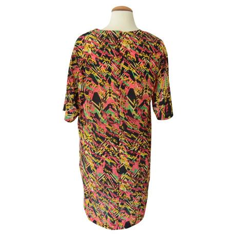 Muster Bunt Missoni Missoni Seidenkleid Seidenkleid in Multicolor 4wZYHXqz
