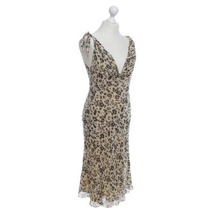 Ralph Lauren Robe en soie avec un motif floral