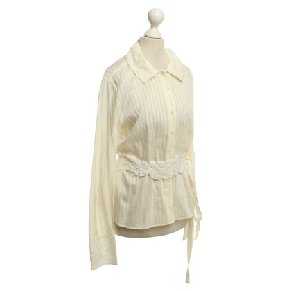 Strenesse Blouse with lace trim