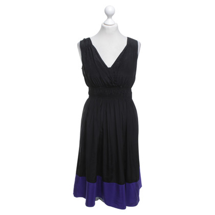 DKNY Dress in black / purple