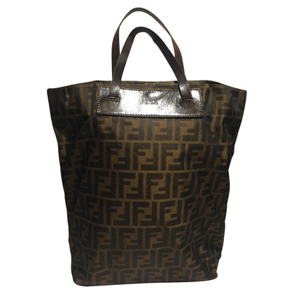 Fendi Shopper mit Monogram-Muster