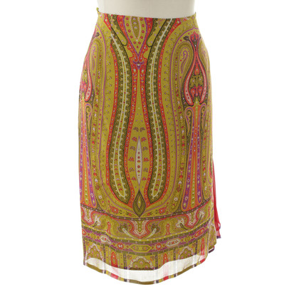 Etro skirt with colorful pattern