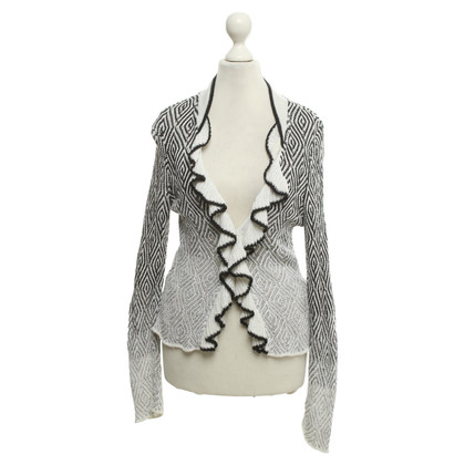 Marc Cain Cardigan in black / white
