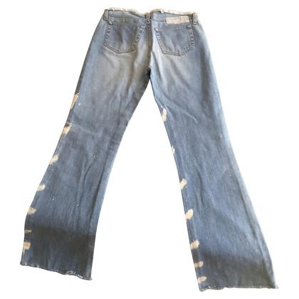 Iceberg Jeans mit Verfärbung