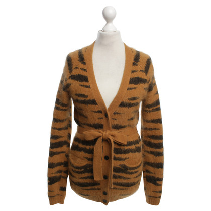 Mulberry Cardigan with animal print