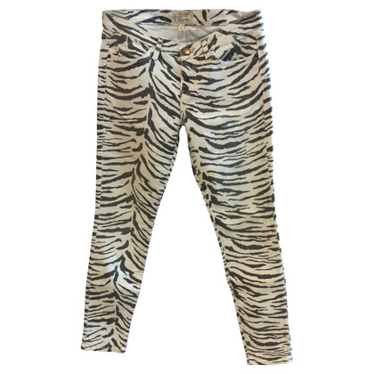 Current Elliott Jeans della zebra