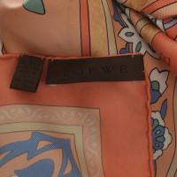 Loewe Sciarpa in seta stampa