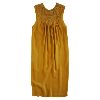 3.1 Phillip Lim Silk dress in mustard yellow