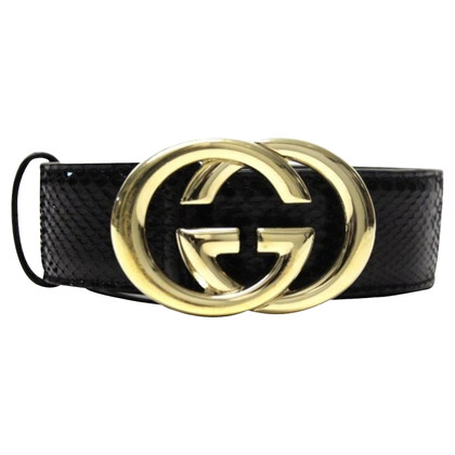 Gucci Belt made of alligator leather