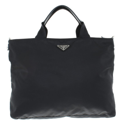 Prada Shoppers in Black
