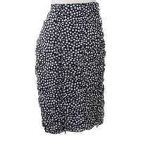 Rena Lange skirt with polka dots
