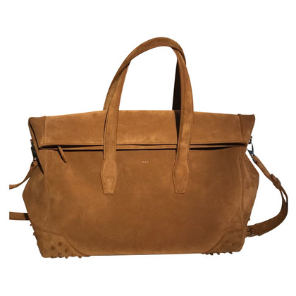 Tod's Suede travel bag