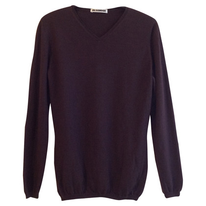 Jil Sander Sweater in Eggplant