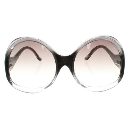 Balenciaga Sunglasses with extravagant glasses
