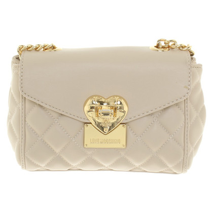 Moschino Love Bag in Beige