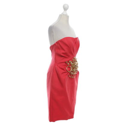 Moschino Robe en rouge