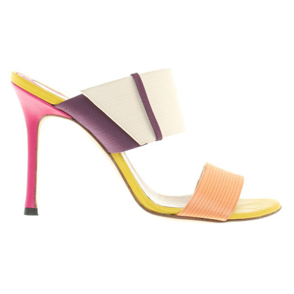 Gianni Versace Sandals in color mix