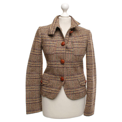 Patrizia Pepe Multi-colored tweed blazer