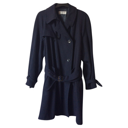 Armani Winter trench coat in blue