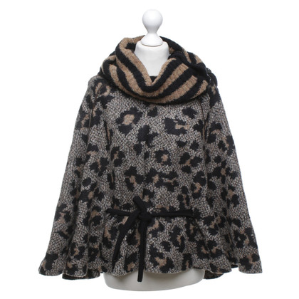 Marc Cain Knit poncho in multicolor