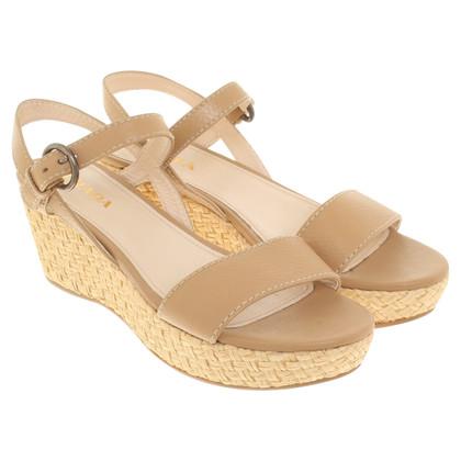 Prada Sandals in beige