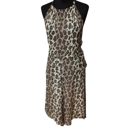 Anna Molinari Dress with leopard print