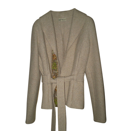 Blumarine Wool Jacket with Swarovski crystals