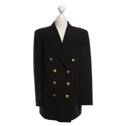 Akris Classic Blazer in black
