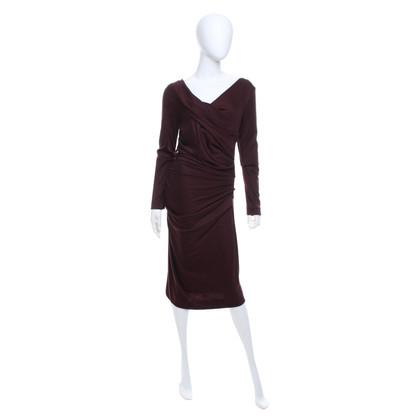 Diane von Furstenberg Kleid in Bordeaux