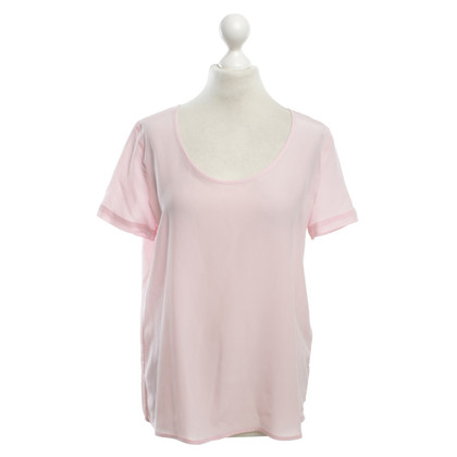 Patrizia Pepe Silk Top in Pink