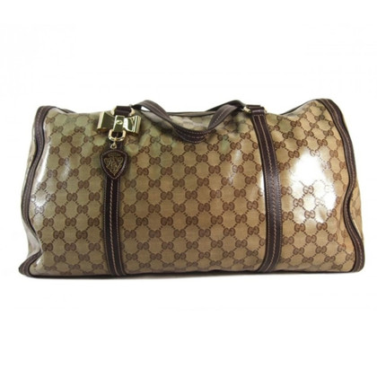 Gucci Reisetasche mit Guccissima-Muster