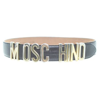 Moschino Waist belt with logo lettering