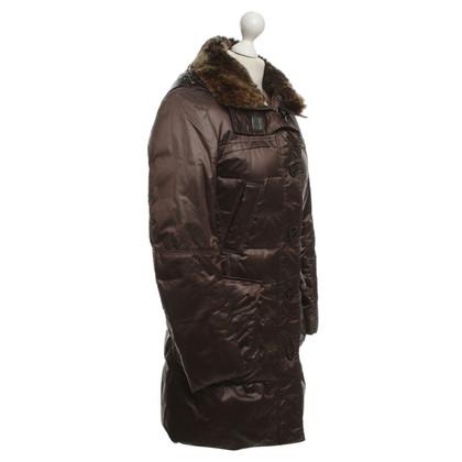 Peuterey giacca invernale con collo di pelliccia