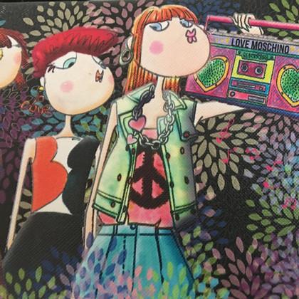 """Moschino Love """"Love Hippie clutch"""""""