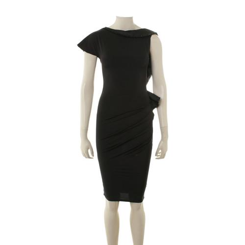 f65a7d97c77ff5 Andere merkenZwarte avond jurk met pailletten trim- Second ...