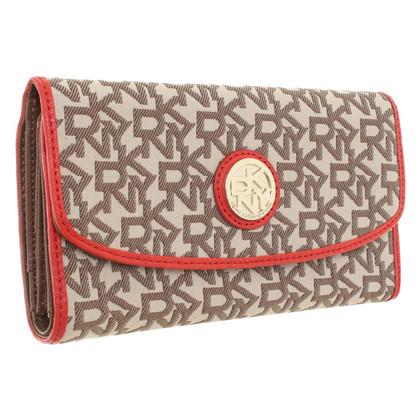 Donna Karan Wallet with pattern