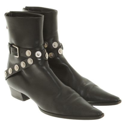 Jil Sander Boots in Black