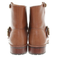 Marc by Marc Jacobs Biker boots in Brown
