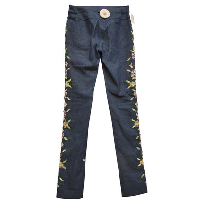 Christian Dior Jeans met borduursel