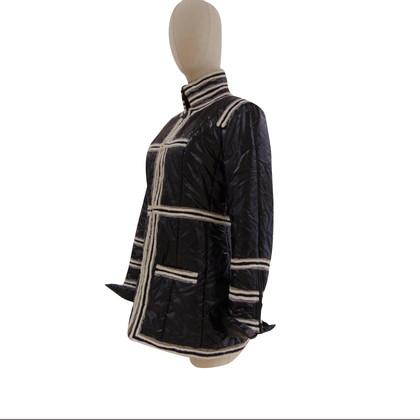 Chanel Cappotto nero e bianco Chanel