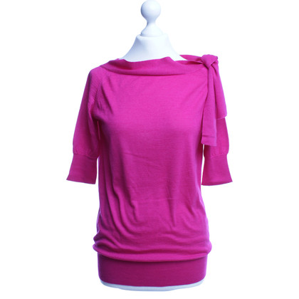 Jil Sander Sweater in Fuchsia