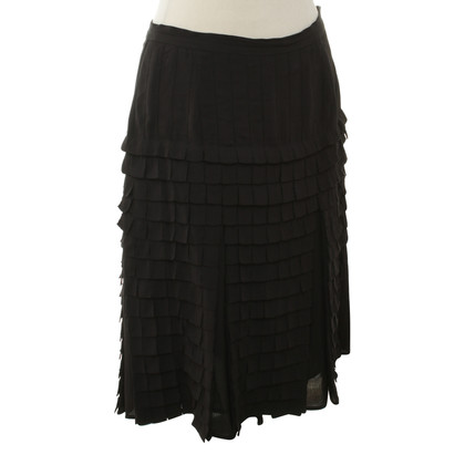 Cacharel Silk skirt in the fringe look