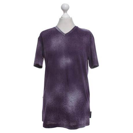 Armani T-Shirt in Violett Violett