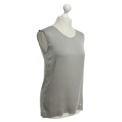 Allude Silk Top in Grey