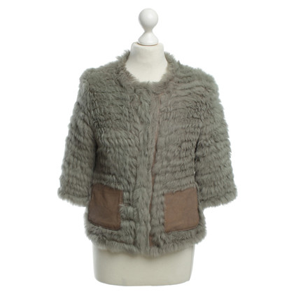 Giorgio Brato Rabbit fur jacket