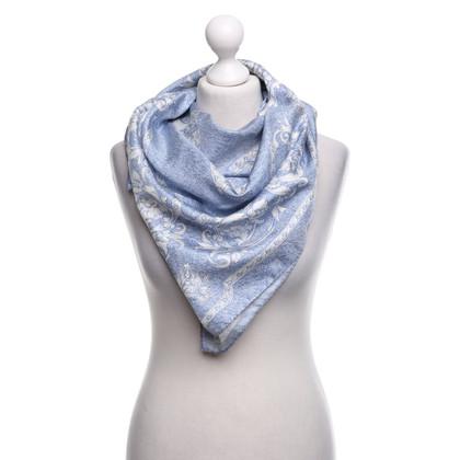 Escada Silk scarf with motif print