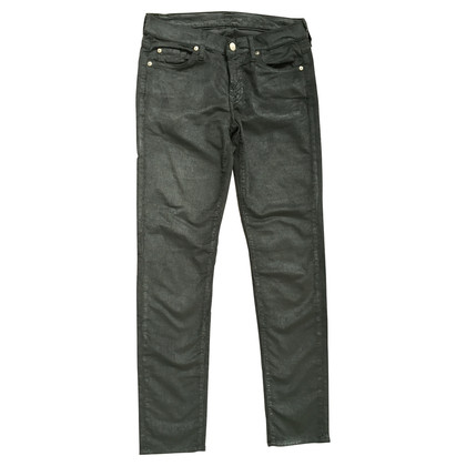7 For All Mankind Jeans in verde oliva