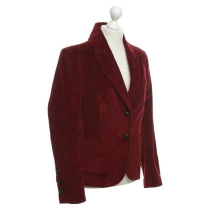 Drykorn Corduroy Blazer in red