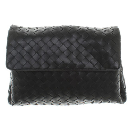 Bottega Veneta clutch in nero